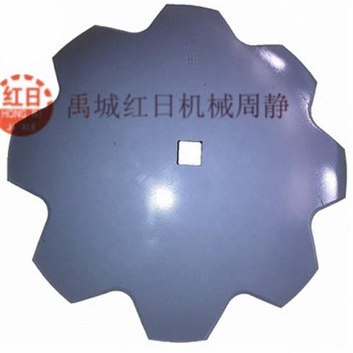 東北青海新疆重型圓盤耙耙片,聯合整地機折翼缺口耙耙片