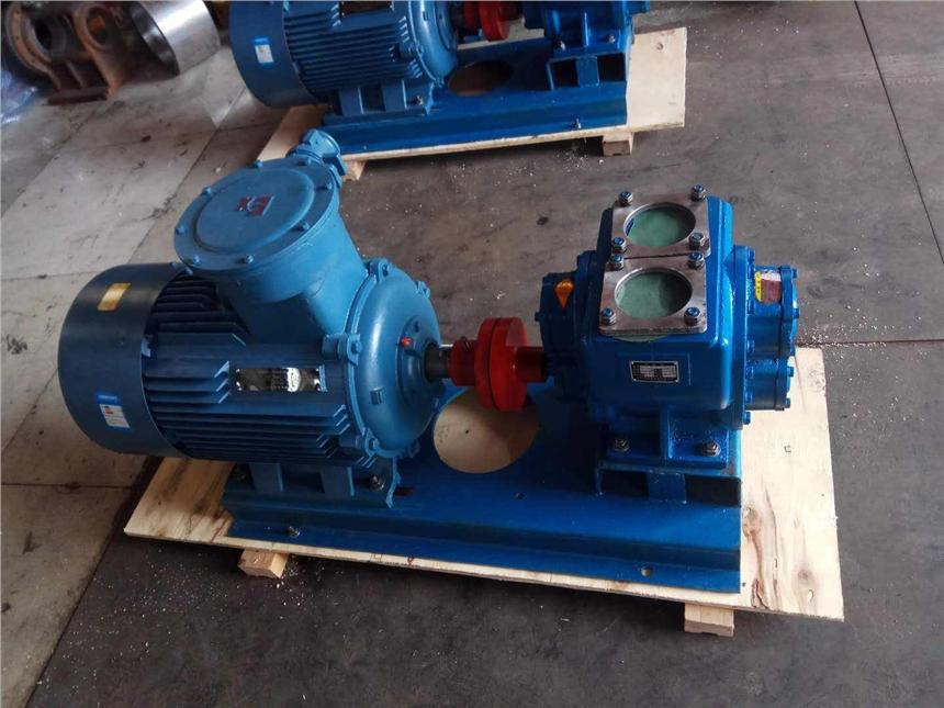華潮牌圓弧齒輪泵YHCB甘油卸車泵專用