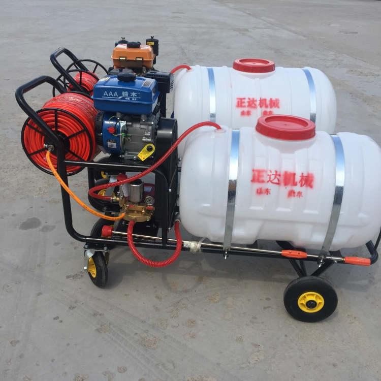 農用殺蟲打藥機 汽油機脈沖彌霧機小推車式打藥機