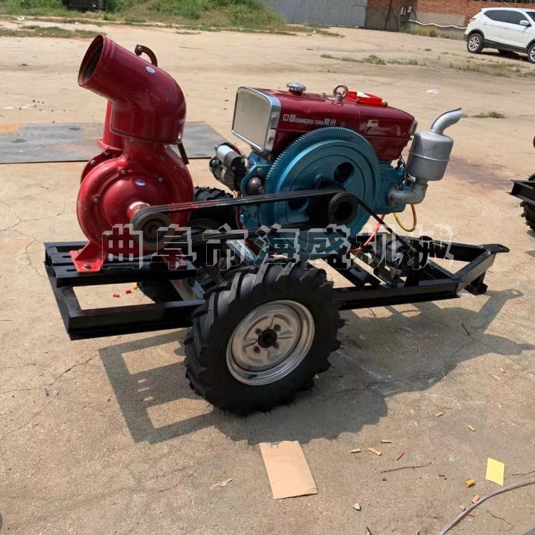 柴油機自吸泵 農業灌溉高揚程噴灌機臥式泥漿污水泵