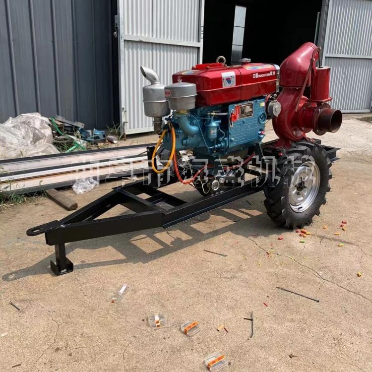 農用灌溉高揚程4寸水泵 柴油機水冷抽水泵