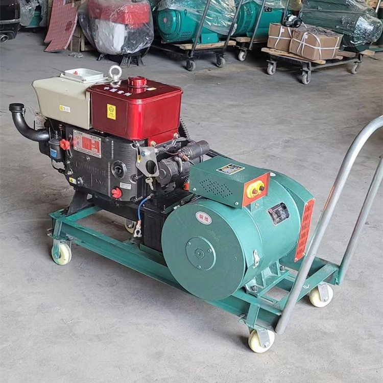 4缸柴油水冷發電機7.5kw單/三相發電機