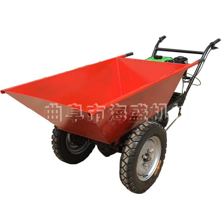 山地運輸輪式推車家用小型柴油搬運車生活垃圾運輸推車