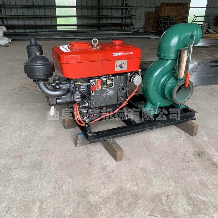 移動化工汽油抽水泵 抗洪排澇水泵5寸 柴油機水冷抽水機