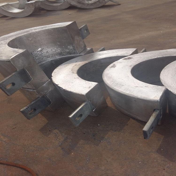梯形鎂合金犧牲陽極焊接管道陰極保護陽極塊