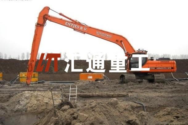 沃尔沃350挖机加长臂、早买早优惠、26米钩机加长臂厂家、