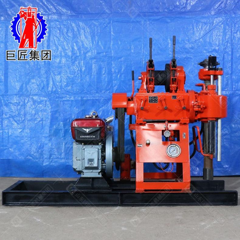 XY-200型水井鉆機 柴油機動力打井機扭矩大鉆巖石快