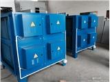大连皮革厂废气治理系统烟气过滤吸附方法