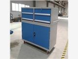 天津車間用工具車生產廠家華奧西定制帶層板工具車 帶掛板工具車