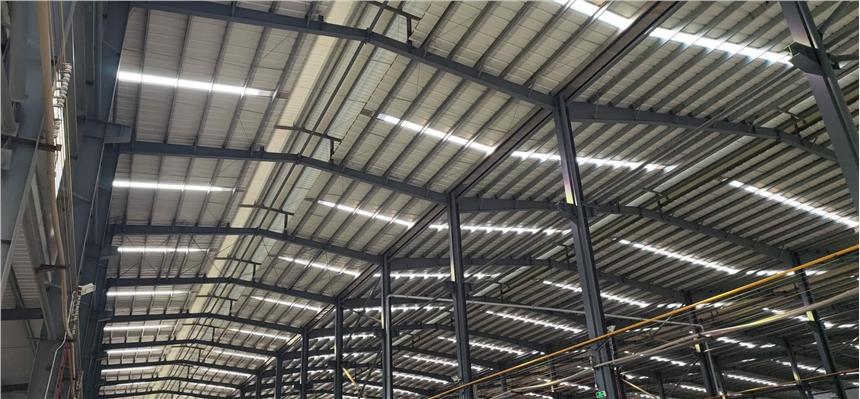 承建廣東廣州河源惠州鋼結構工業廠房