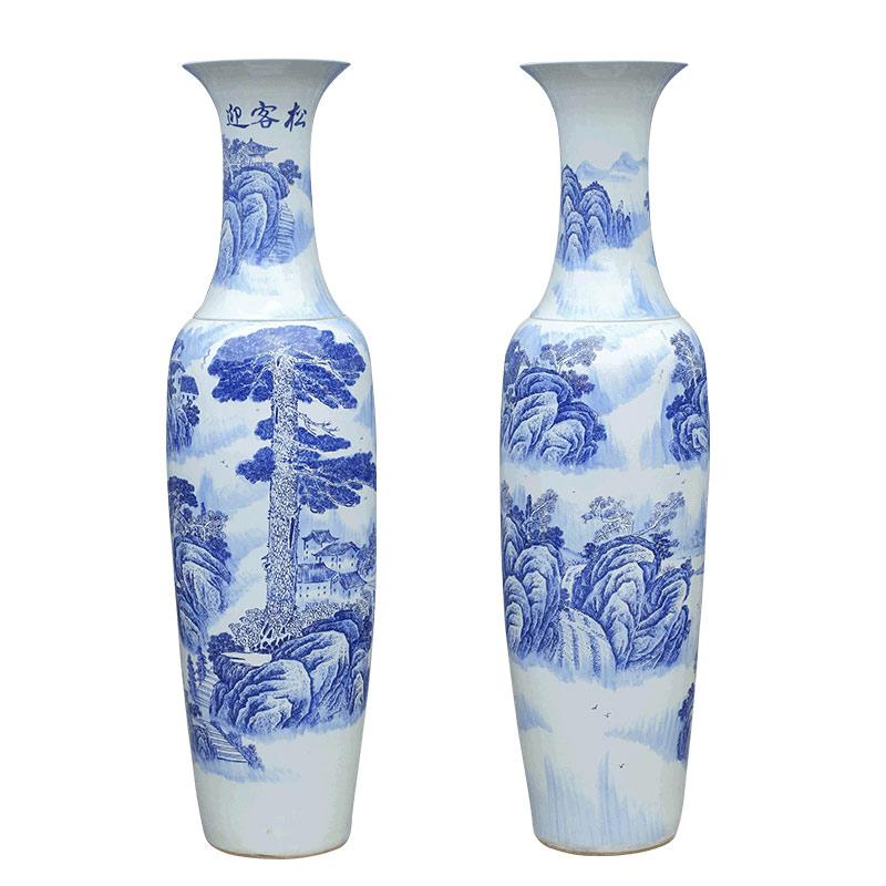 1米高以上的落地大花瓶批发 景德镇陶瓷大花瓶批发厂家