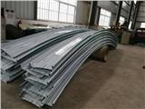 弯弧铝镁锰屋面板安装