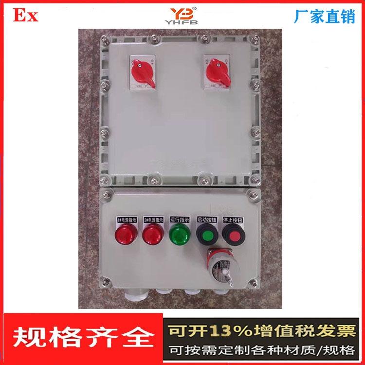 按键调节防爆仪表箱 铝合金防爆控制箱