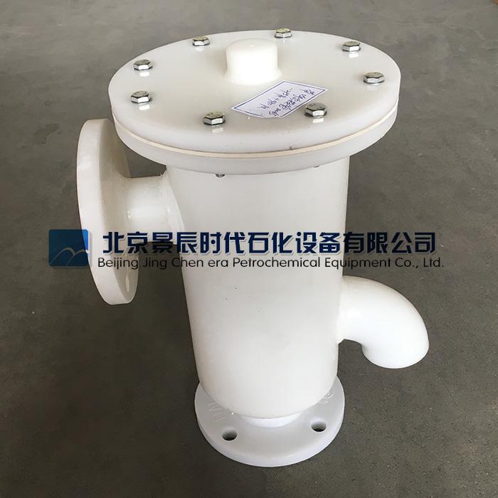 高性价HXF-PP塑料带呼出接管呼吸阀实物图