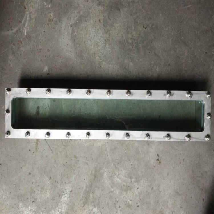 液位窺視鏡 316L條形窺視鏡 WCB長條形方角視鏡
