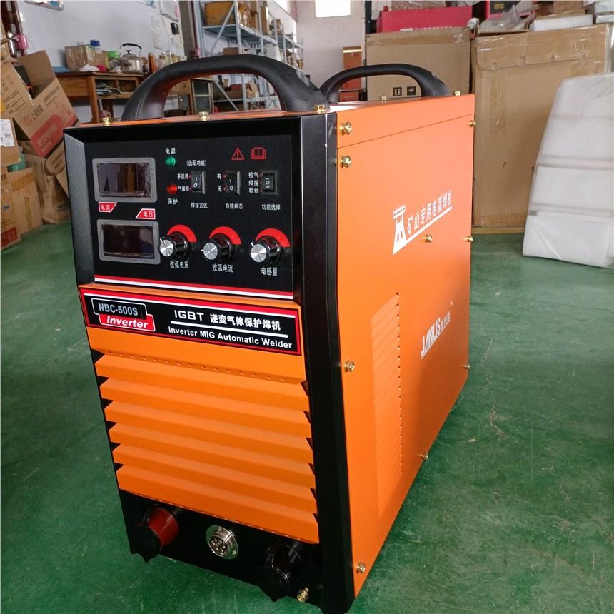工業型IGBT雙模塊NBC-500D氣體保護焊機運行穩定山東廠家現貨直供