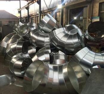 供甘肃庆阳铁皮通风管和天水通风工程价格