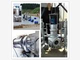 鹰潭专用工厂油泥泵  耐用抽砂泵机组 双搅拌器排污泵