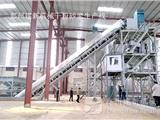 建新年产30万吨干混砂浆搅拌站顺利发安阳