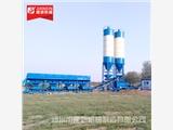 建新機械為中鐵12局量身定制600穩定土拌合站