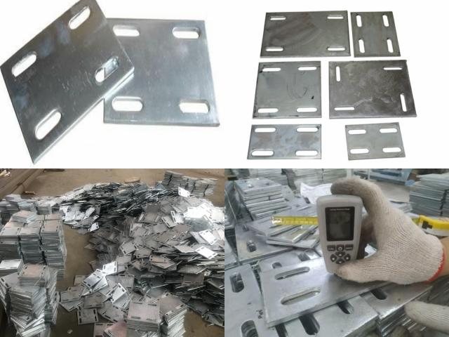 肇慶預埋鋼板廠家供貨 熱鍍鋅預埋鋼板加工定制