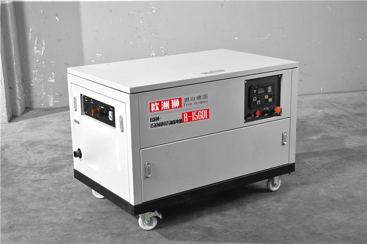 15kw备用汽油发电机
