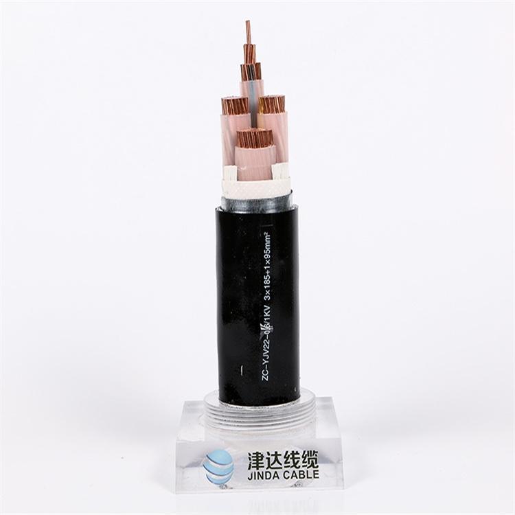 聚氯乙烯絕緣護套電纜YJV   3*4+1