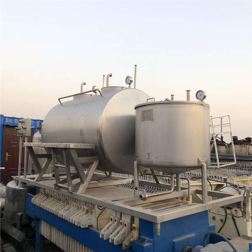 金门县不锈钢反应釜回收压滤机