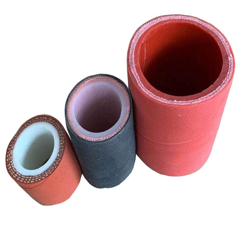 耐温夹布硅胶管 硅胶柔性管 红色夹线硅胶管耐温 厂家