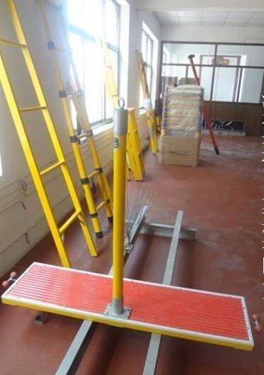 玻璃钢刀闸检修平台110kv质量保证金河电力厂家