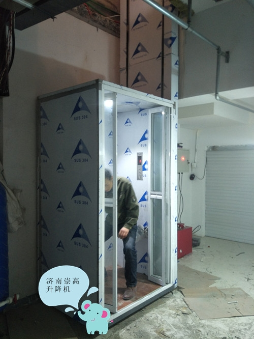 通遼家用升降梯價格+無晃動家用電梯安裝需求