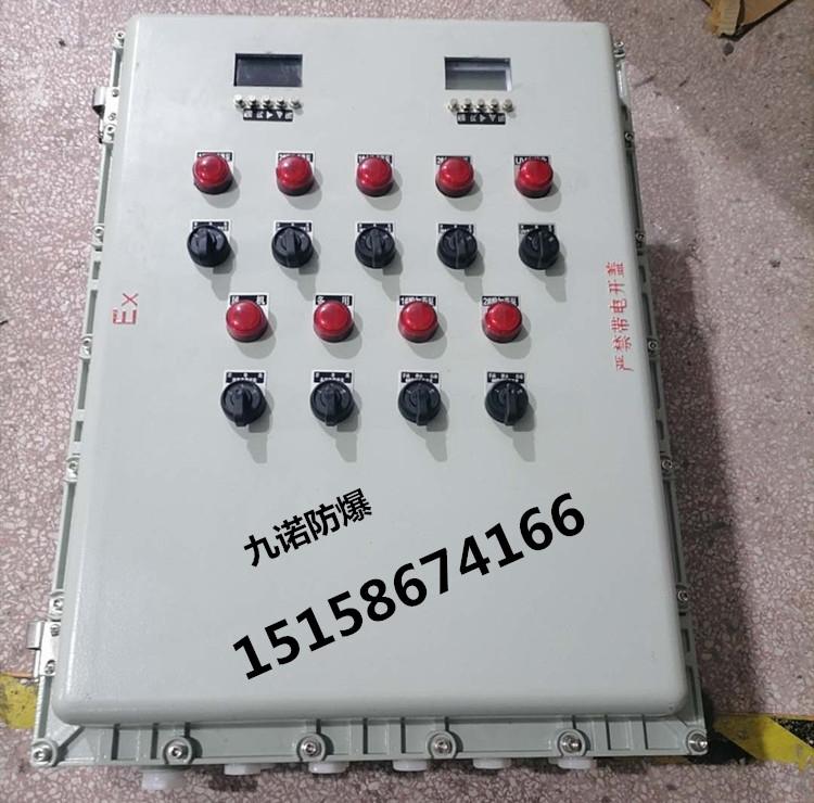定做防爆仪表控制箱  600*800防爆接线箱
