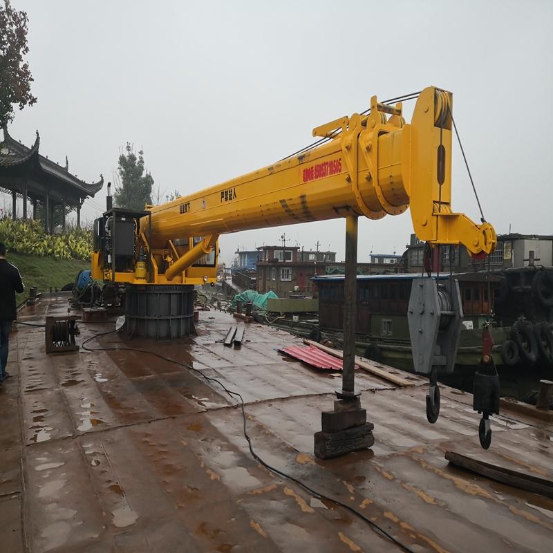 20吨船吊配置 30吨船吊臂长