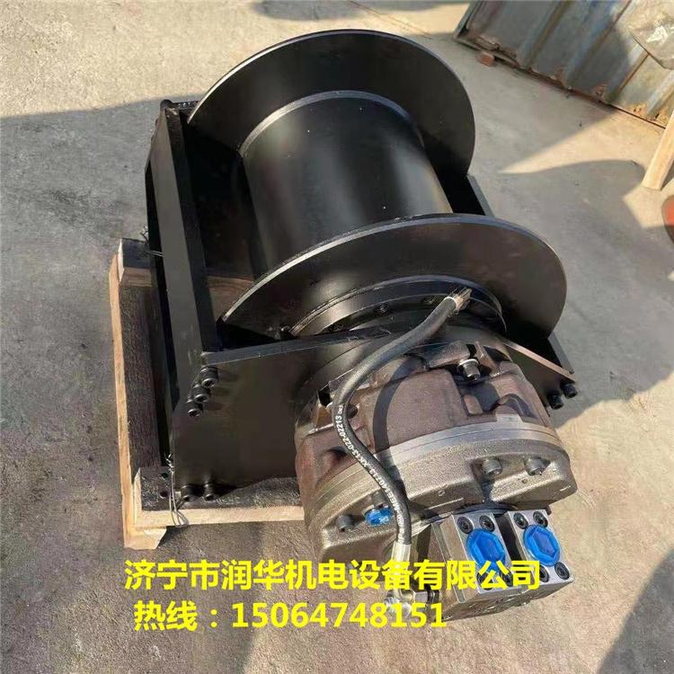 工程車液壓絞盤10噸20噸30噸液壓絞盤濟寧潤華機電