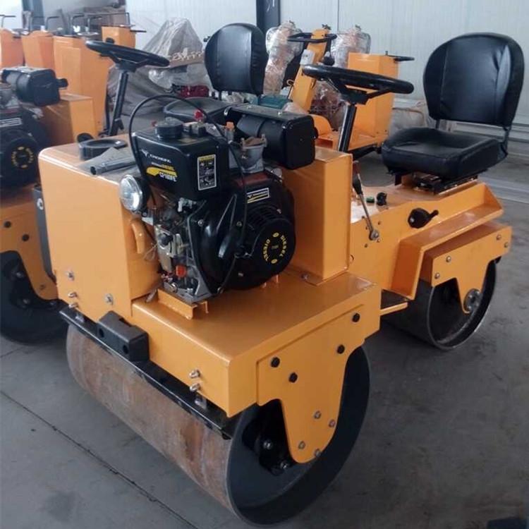 小座駕雙鋼輪壓路機騰宇機械供應