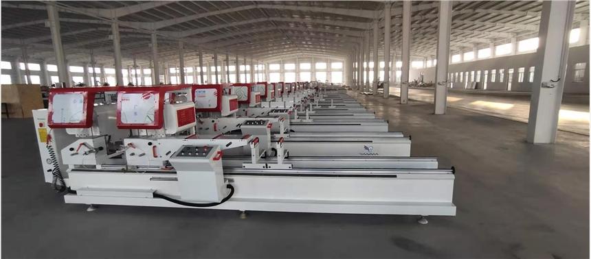 天馬機器塑鋼門窗設備組角機廠家直銷