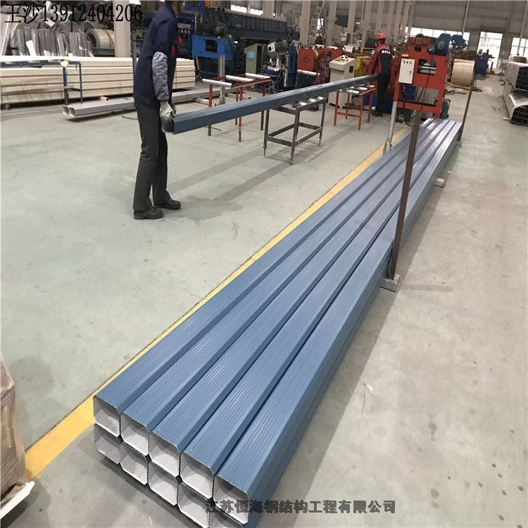 今日:海安廠家生產彩鋼落水管