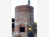 焦作:砖烟囱人工拆除公司