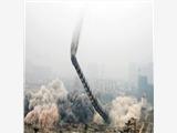 鹤壁烟囱人工拆除公司工程案例