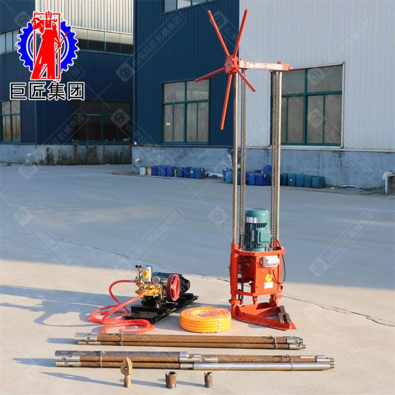 山東巨匠 QZ-2A  三相電輕便巖芯取樣鉆機 地質勘探 物探打孔