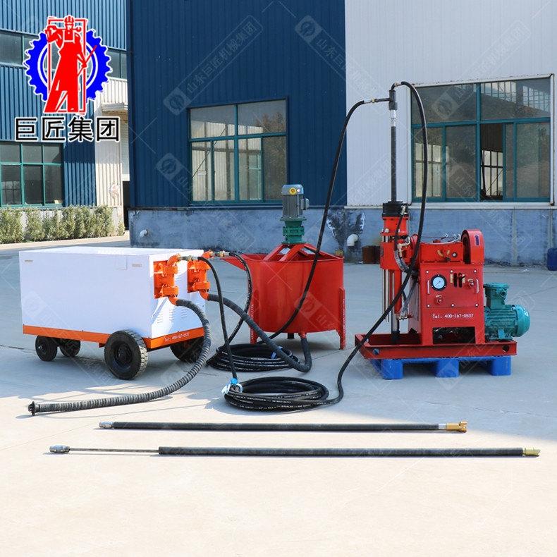 多角度地铁注浆加固钻机ZLJ-650液压边坡支护钻机体积小操作简单
