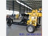 华夏巨匠XYX-130型轮式水井钻机 百米拖引式水井钻机
