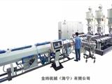 金緯機械高檔多層PPR、PE復合管材生產線