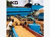 江西供应FGS-12鼓动溜槽 淘金溜槽选矿设备 金矿水力选矿设备生产厂家