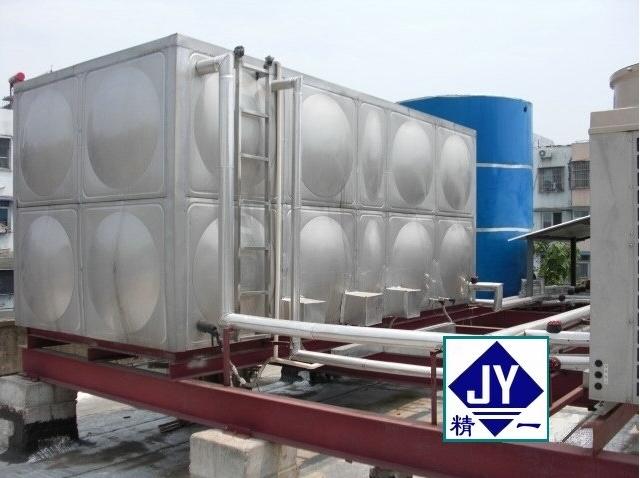 精一泓揚不銹鋼消防水箱廠家直銷 ,304不銹鋼消防水箱生產加工!