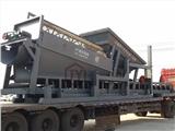 大型电动筛沙机  滚筒筛沙设备 新型猪笼筛