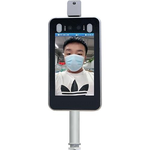 人臉識別測溫門禁考勤一體機D721 捷易科技
