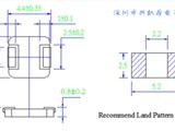 一体成型电感0410系列,超薄款,日系品质