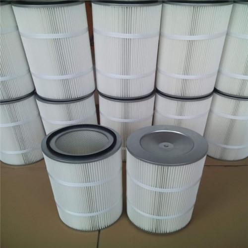 覆膜防静电除尘滤芯组装