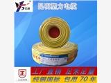 昆明塑力电缆 纯铜国标 硬芯BV 16     100米